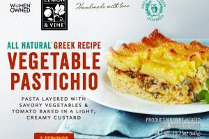 Vegetable Pastichio