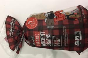 Sprouted Organic Ancient Grains, Big Red's Bread