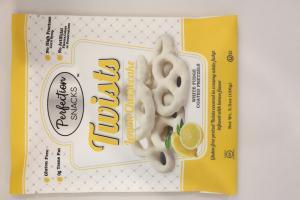 White Fudge Coated Pretzels