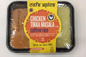 Chicken Tikka Masala With Saffron Rice