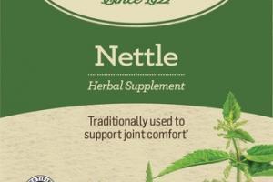 ORGANIC NETTLE HERBAL SUPPLEMENT TEA BAGS