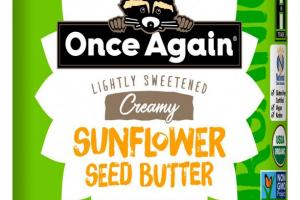 Organic Sunflower Butter 16 oz