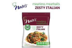 Meatless Meatballs - Zesty Italian