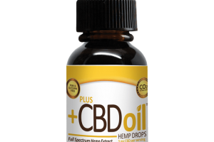 CBD Oil Drops - Peppermint