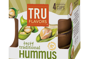Grab-and-Good TRU FLAVORS® Tasty Traditional Hummus