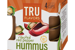 Grab-and-Good TRU FLAVORS® Roasted Red Pepper Hummus