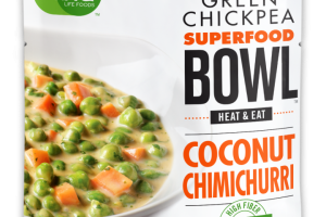 Green Chickpea - Superfood Bowl - Coconut Chimichurri
