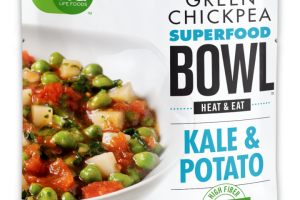 Green Chickpea Superfood Bowl - Kale & Potato