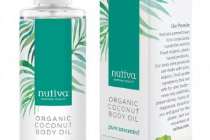 Organic Coconut Body Oil - Pure Unscented