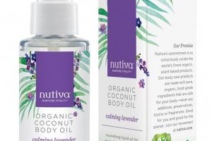 Organic Coconut Body Oil - Calming Lavender