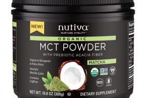 Organic Mct Powder - Matcha