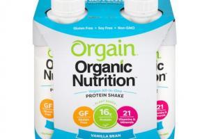 Vegan Organic Nutrition Shake - Vanilla Bean