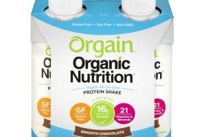 Vegan Organic Nutrition Shake - Smooth Chocolate