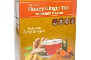 Instant Honey Ginger Tea - Turmeric Flavor