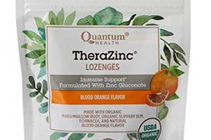 Therazinc Lozenges - Blood Orange Flavor