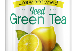 Organic Unsweetened Lemon Iced Green Tea