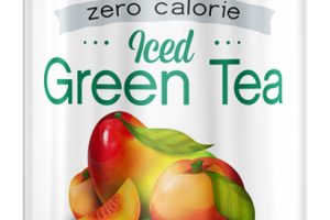 Zero Calorie Peach Mango Iced Green Tea
