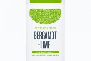 Deodorant Stick Bergamot + Lime