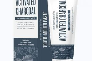 Tooth+Mouth Paste Activated Charcoal with Wondermint