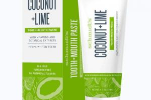 Tooth+Mouth Paste Coconut + Lime