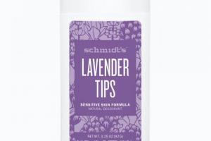 Sensitive Skin Deodorant Stick Lavender Tips