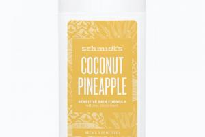 Sensitive Skin Deodorant Stick Coconut Pineapple