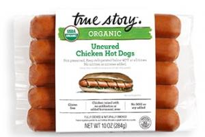 Organic Uncured Chicken Hot Dogs