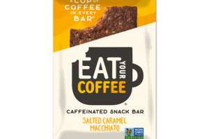 Salted Caramel Macchiato - Caffeinated Energy Bar