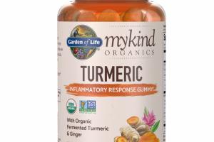 mykind Organics Turmeric Inflammatory Response Gummy
