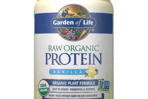 Raw Organic Protein Powder - Vanilla