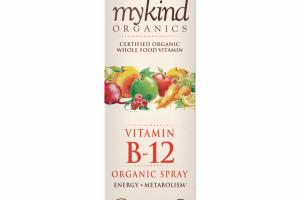 mykind Organics Vitamin B12 Organic Spray