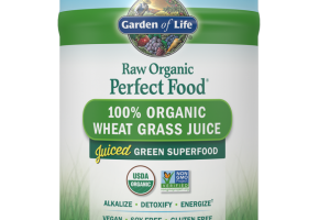 RAW Organic Perfect Food 100% Organic Wheat Grass Juice