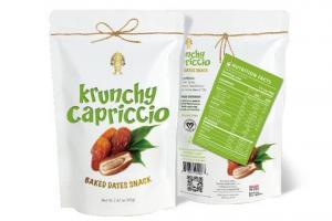 Krunchy Capriccio baked Dates snack