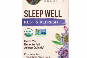 mykind Organics Sleep Well Tablets
