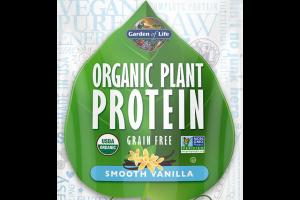 Organic Plant Protein - Smooth Vanilla