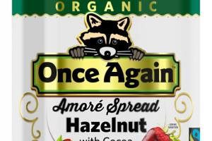 Organic Amoré Hazelnut Spread with Cocoa and Milk