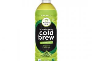 Ice-Steeped Cold Brew Matcha + Green Tea