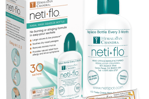 Neti Flo with 30 Neti Salt sachets