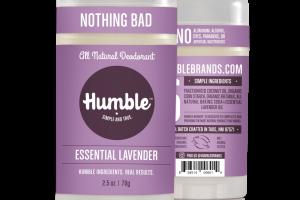 All Natural Deodorant - Essential Lavender