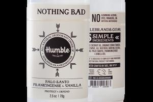All Natural Deodorant - Palo Santo Frankincense & Vanilla