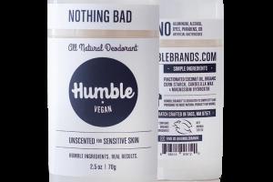 All Natural Deodorant - Vegan Unscented for Sensitive Skin