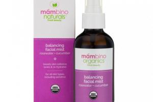 Balancing Facial Mist, Rosewater + Cucumber