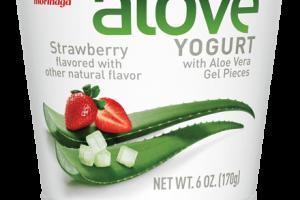 Strawberry Aloe Vera Yogurt