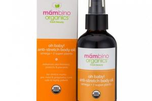 Oh Baby! Anti-Stretch Body Oil, Omega + 7 Super Plants
