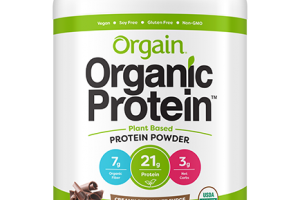 Organic Protein™ Plant Based Protein Powder - Creamy Chocolate Fudge