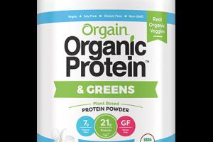 Organic Protein™ & Greens Plant Based Protein Powder - Vanilla Bean