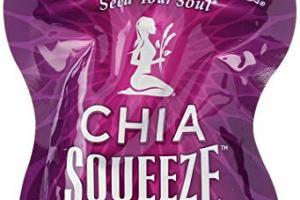 Organic Chia Squeeze - Blackberry Bliss