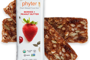 Plant-based Food Bar - BERRIES + PEANUT BUTTER