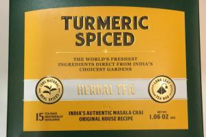 Turmeric Spiced Herbal Tea