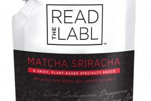 A Spicy, Plant-based Specialty Sauce Matcha Sriracha